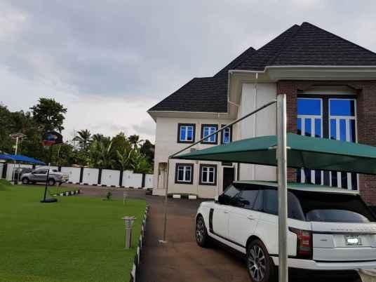 A View of Emmanuel Onyeke Mansion