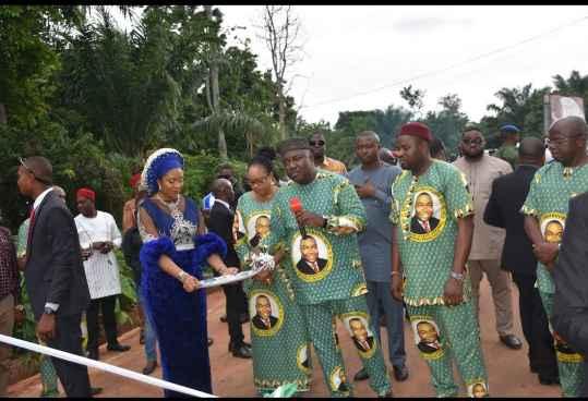 Emmanuel Onyeke Mansion with women
