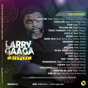 (Mixtape) DJ Brytos – Larry Gaaga Revolution Mixtape